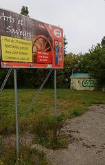 Art et Saveurs avec graffiti en prime