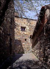 A quiet corner and pleasing stonework