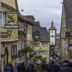 Rothenburg o.d.T. in der Spitalgasse