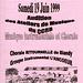 Concert des ateliers de musique à Blandy-les-Tours le 19/06/1999