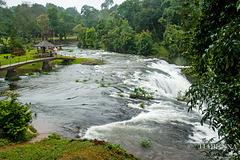 Bolaven Plateau waterfall