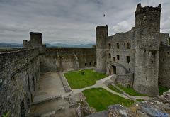 The Grandeur of Harlech Castle