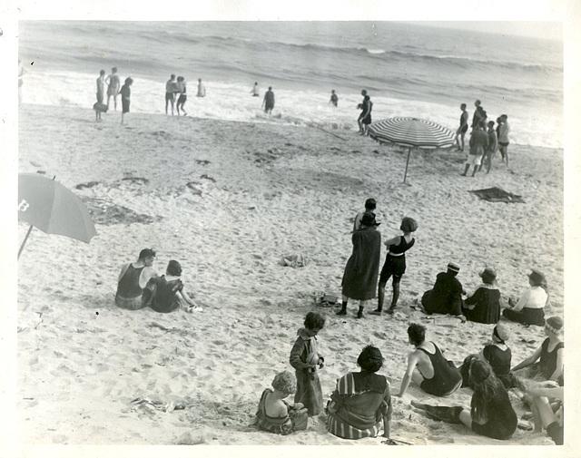 On the Beach, 1920