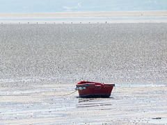 Boat on the Estuary of the River Dee