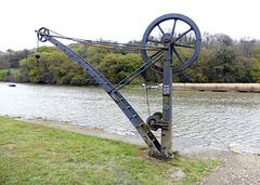 Wharf crane