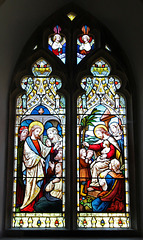 Stained Glass Window, Peasenhall Church, Suffolk