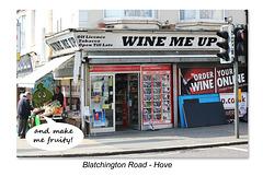 Wine me up & make me fruity! - Hove - 9.4.2015