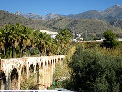 El Tablazo..aqueduct.. Maro.. Andalusia.