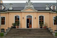 Freitreppe am Neuen Schloss Kunnersdorf
