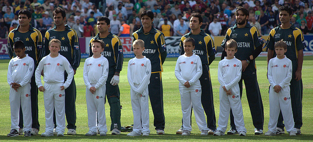 Pakistan Hear Their Anthem