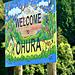 Entrance to Ohura.