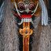The mask of Rangda