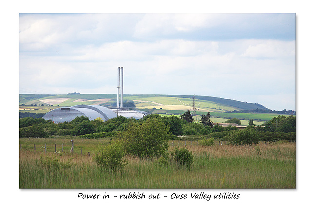 Power in - Rubbish out - Ouse Valley - Sussex - 15.6.2015