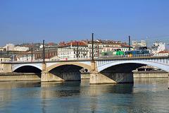 Haut-le-pied sur le Rhône