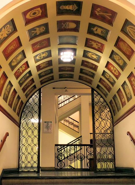 Durchgang zum Treppenhaus