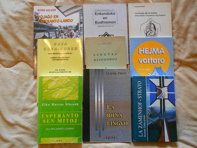 Llibres d'esperanto a la venda (2)