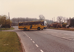 Swaffham Coachways WNV 824W at Barton Mills - 5 May 1985