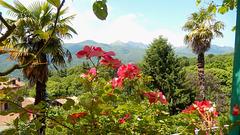 Borgosesia - Bastia , balconata  sulla Valsesia