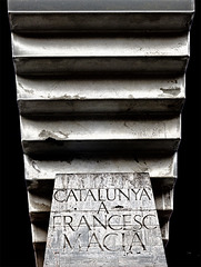 Catalunya a Francesc Macia Monument Stairs