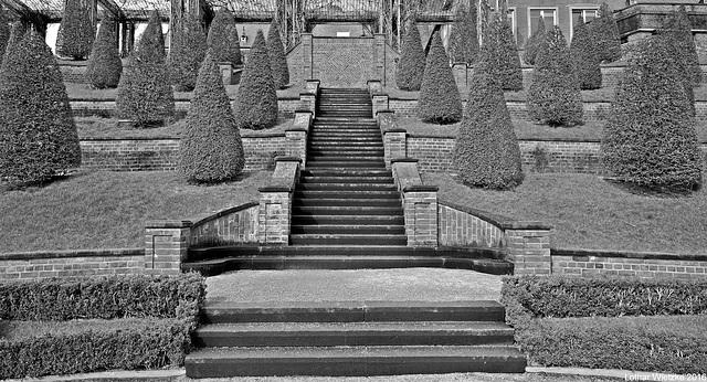 Treppe zum 'Alten Garten'