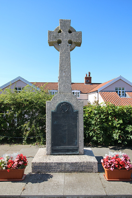 War Memorial, Saint Michael's Church, Peasenhall, Suffolk