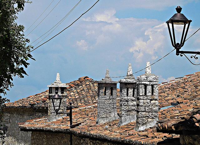 Berat chimneys