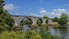 Stirling Old Bridge over the River Forth