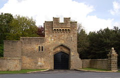 Wilton Castle Gatehouse, County Durham
