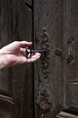 Corsavy - la chiave della chiesa