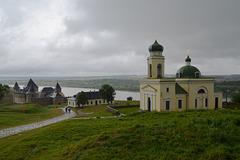 Хотинская крепость и церковь Александра Невского