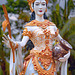Statue of goddess Dewi Sri