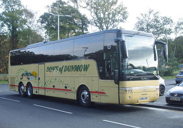 DSCF5308  Don's Coaches DN12 DON (YJ12 KFE) at Barton Mills - 31 Oct 2018