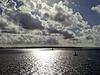 Sea sky and Isle of Wight