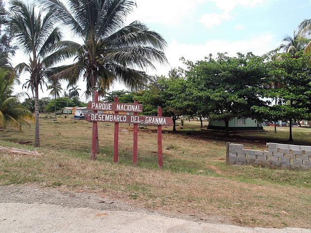 Parque Desembarco del Granma