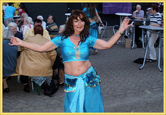 Belly Dancer posed for me