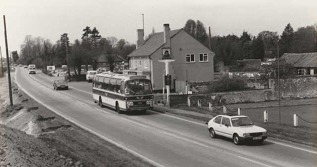 Taylors KUW 528P at Barton Mills - 28 Apr 1985