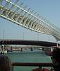 Overhead monorail track