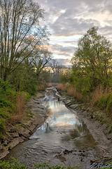 An evening tributary walk