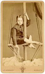 Boy on Mast