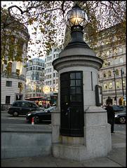 Trafalgar Square police box