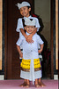 Two boys in their Balinese dress