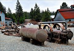 Mining equipment -- making Gold
