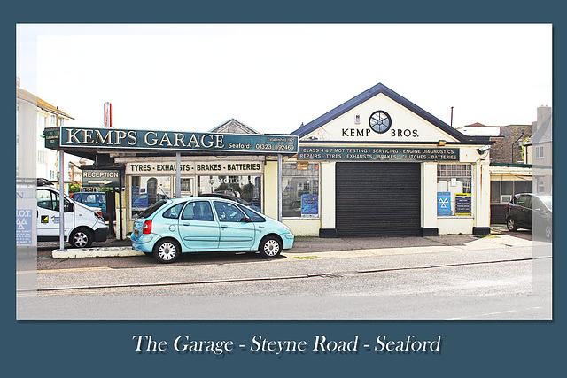 The Garage - Steyne Road  - Seaford - Sussex - 18.6.2015