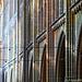 Arcade, Triforium translucide et Claire-voie