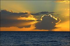 sunset in Kihei