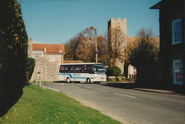 Neal's Travel H391 CFT in Barton Mills - Nov 1994
