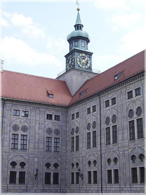 Kaiserhof der Münchener Residenz