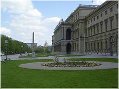 Münchener Residenz mit Hofgarten