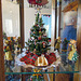 Mini Christmas Tree with Tagua Nut Navity