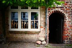 Im Gängeviertel in Lübeck